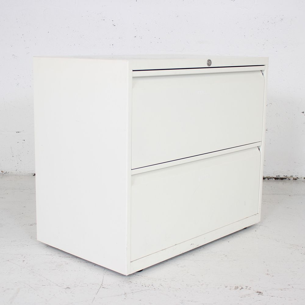 High Quality Two Drawer Side Filer   White Filing Cabinet   Two Drawer Office Storage
